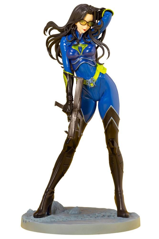 G.I. Joe Bishoujo PVC Statue 1/7 Baroness 25th Anniversary Blue Color Ver. 23 cm