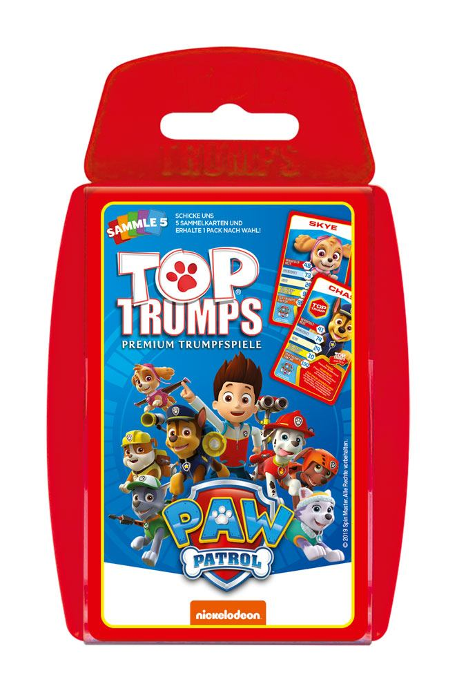Paw Patrol Card Game Top Trumps *German Version*