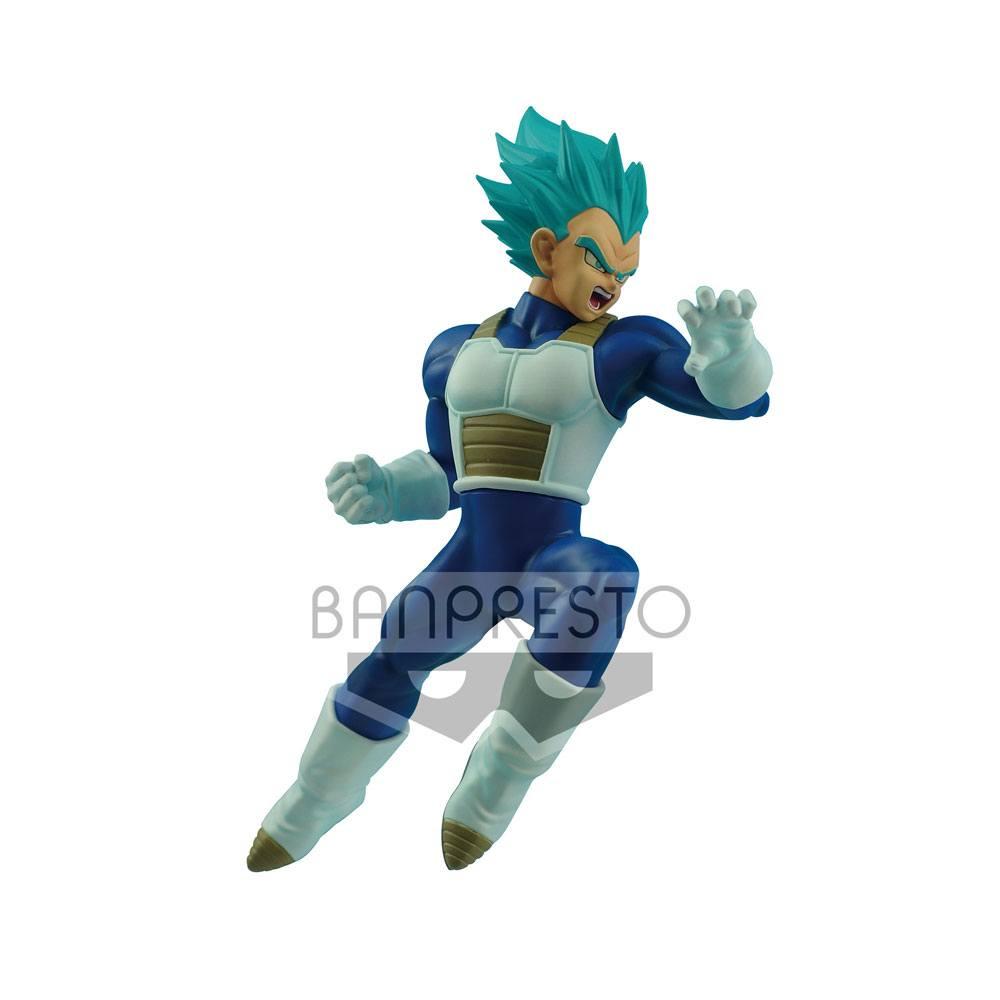 Dragonball Super In Flight Fighting Figure Super Saiyan Blue Vegeta 16 cm