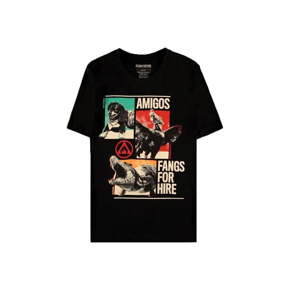 Far Cry 6: T-Shirt The Amigos Size M