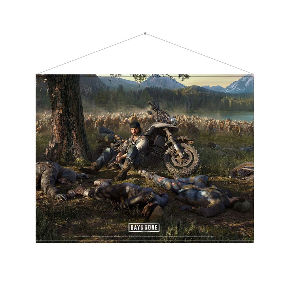 Days Gone Wallscroll Cover Art 100 x 77 cm