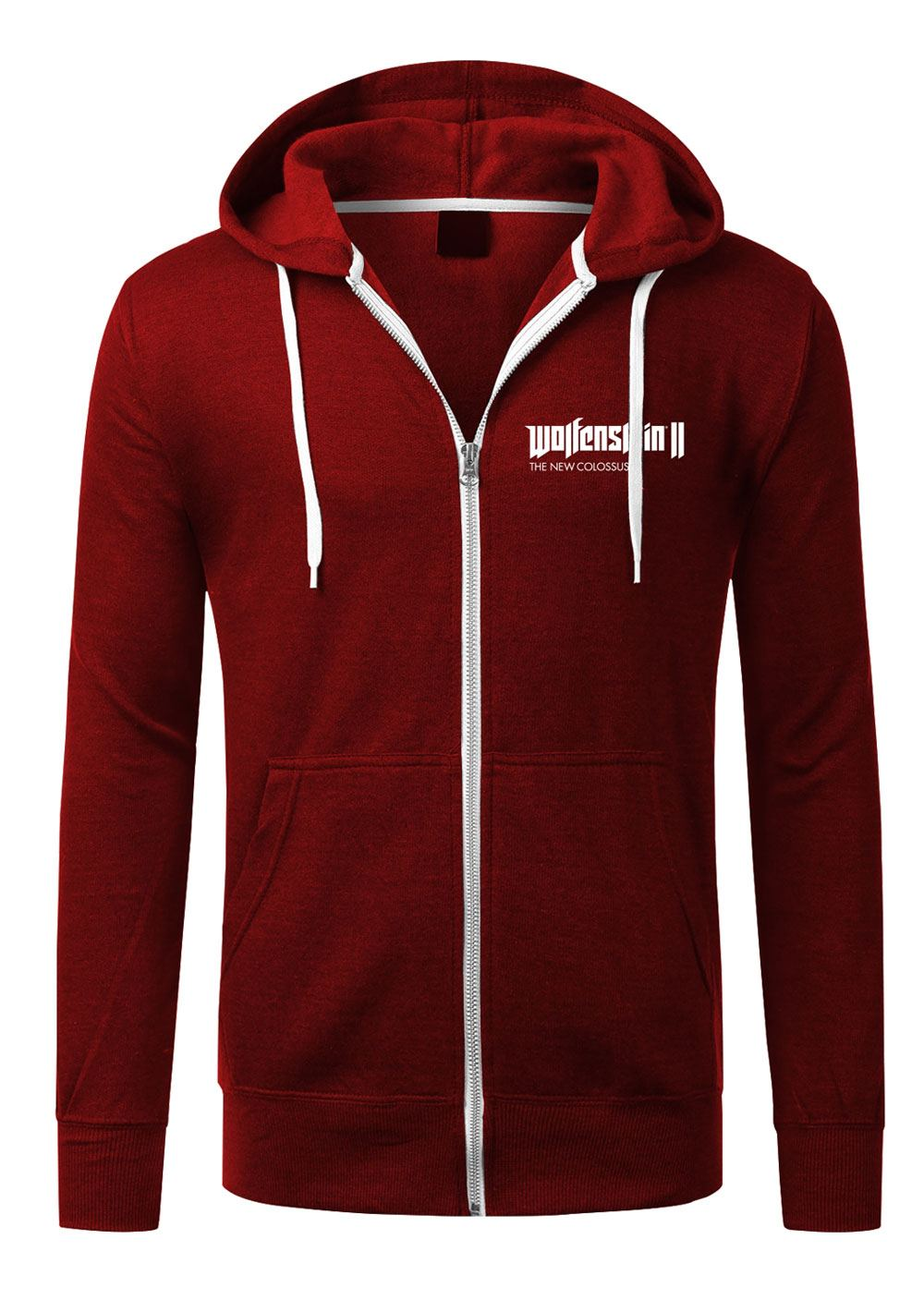 Wolfenstein II Hooded Sweater Patch Size XL