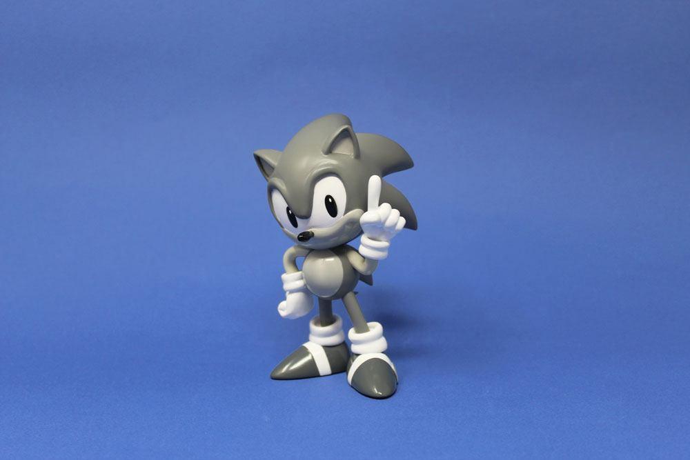 Sonic the Hedgehog Mini Icons Statue 1/6 Sonic Grey Edition 15 cm