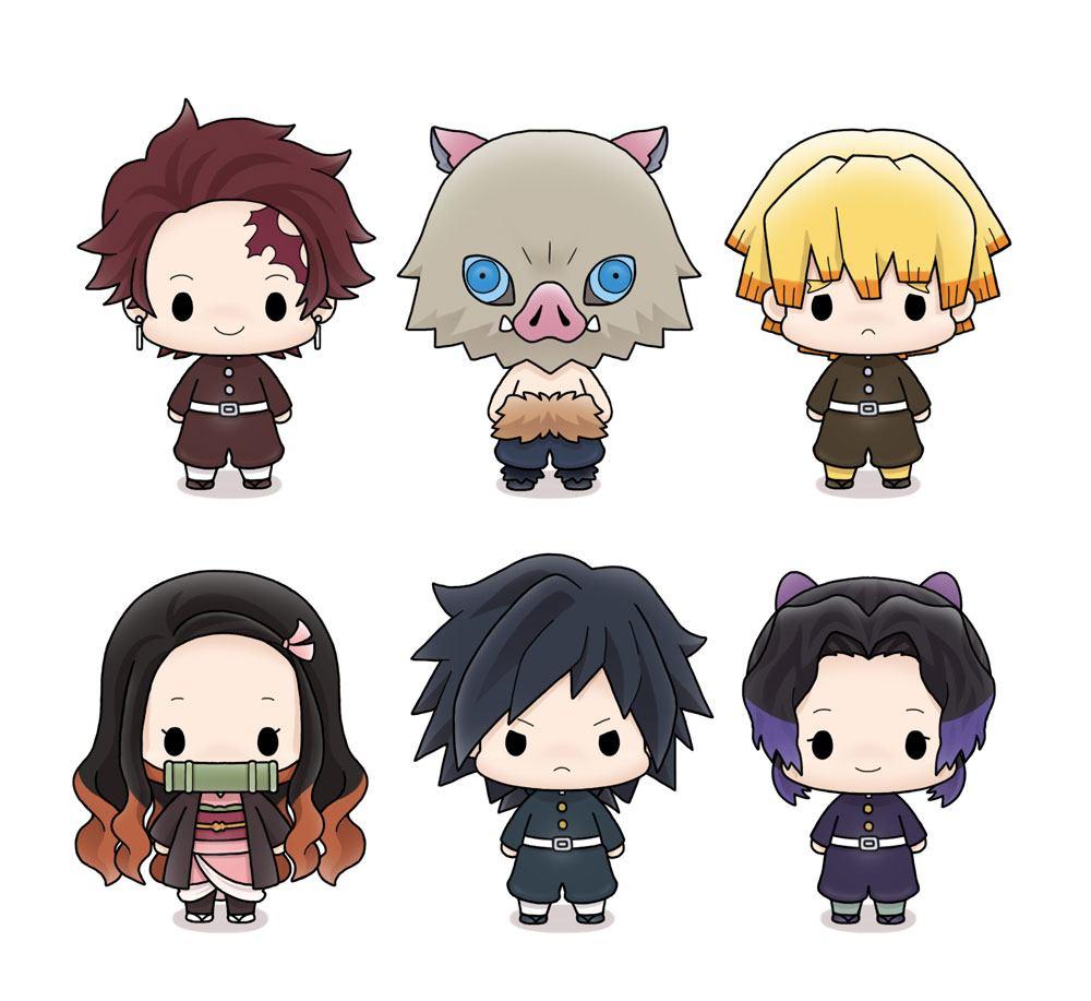 Demon Slayer: Kimetsu no Yaiba Chokorin Mascot Series Trading Figure 5 cm Assortment (6)