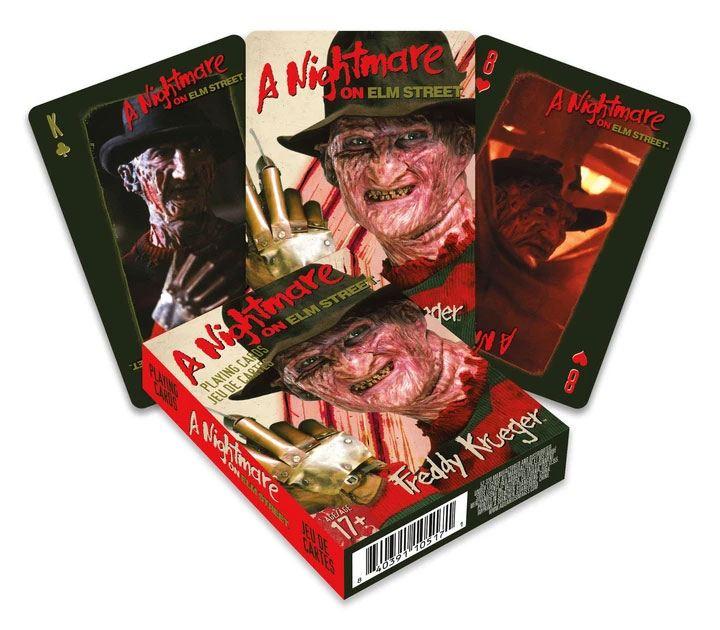 Nightmare on Elm Street Playing Cards Freddy