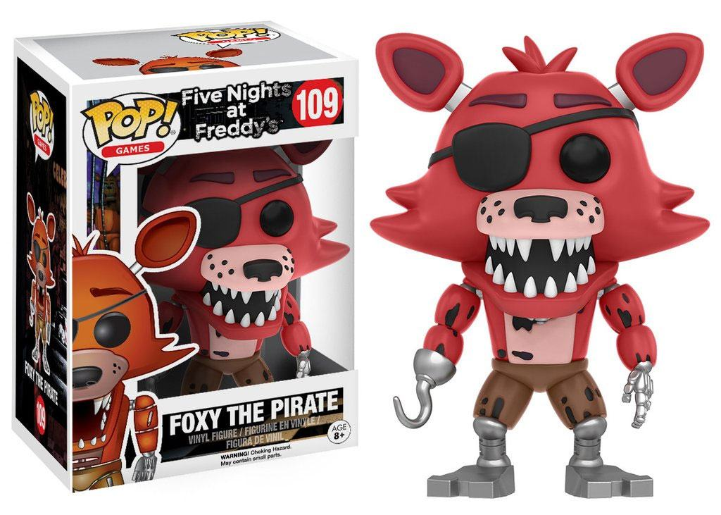 Five Nights at Freddy's POP! Games Vinyl Figure Foxy The Pirate 9 cm
