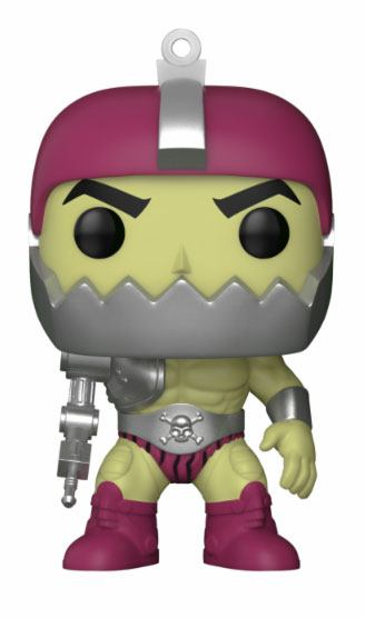 Masters of the Universe POP! Television Vinyl Figure Trap Jaw Metallic 9 cm