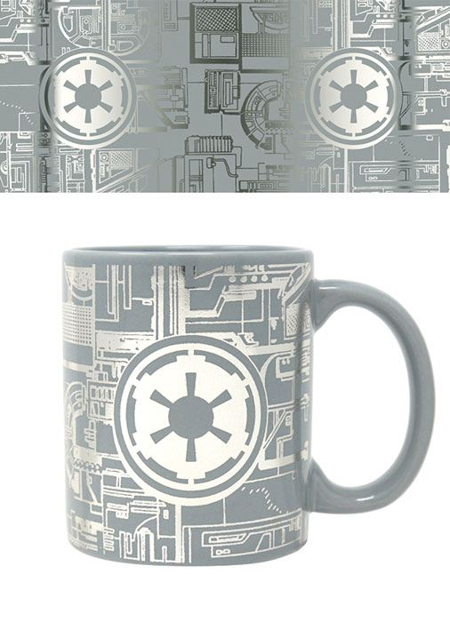 Star Wars Foil Mug Death Star Surface