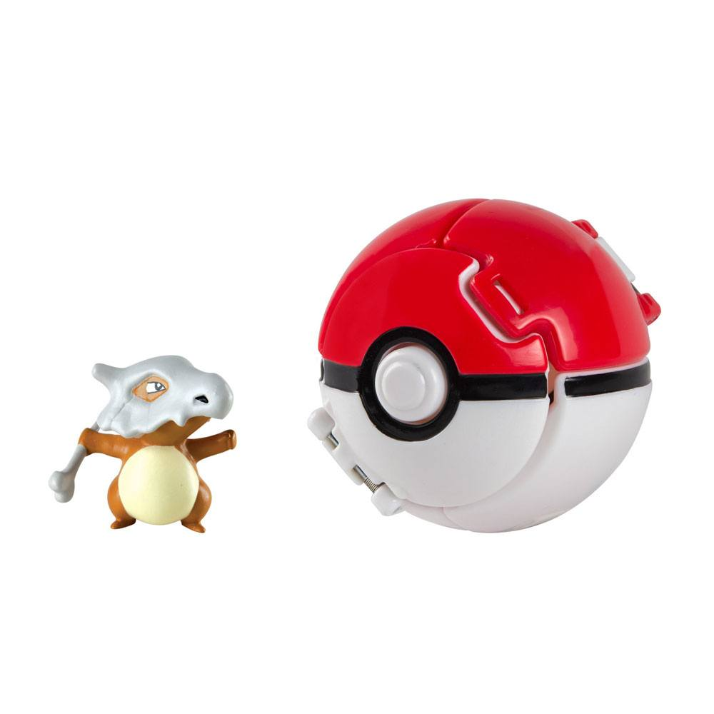 Pokémon Throw 'n' Pop Poké Ball with Figure Cubone