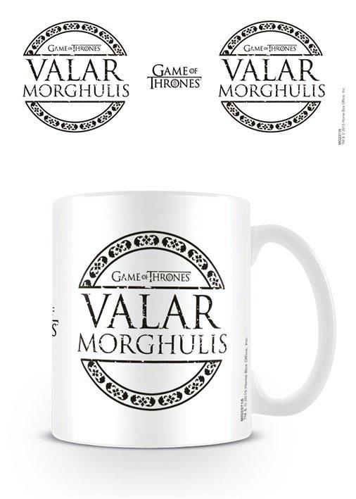 Game of Thrones Mug Valar Morghulis
