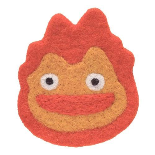 Howl's Moving Castle Woolen Coaster Calcifer