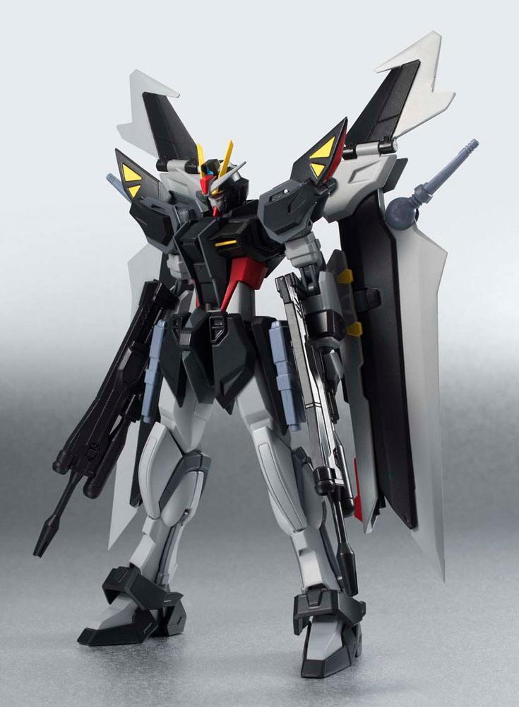 Mobile Suit Gundam SEED C.E. 73 Stargazer Robot Spirits Action Figure Side MS Strike Noir 14 cm
