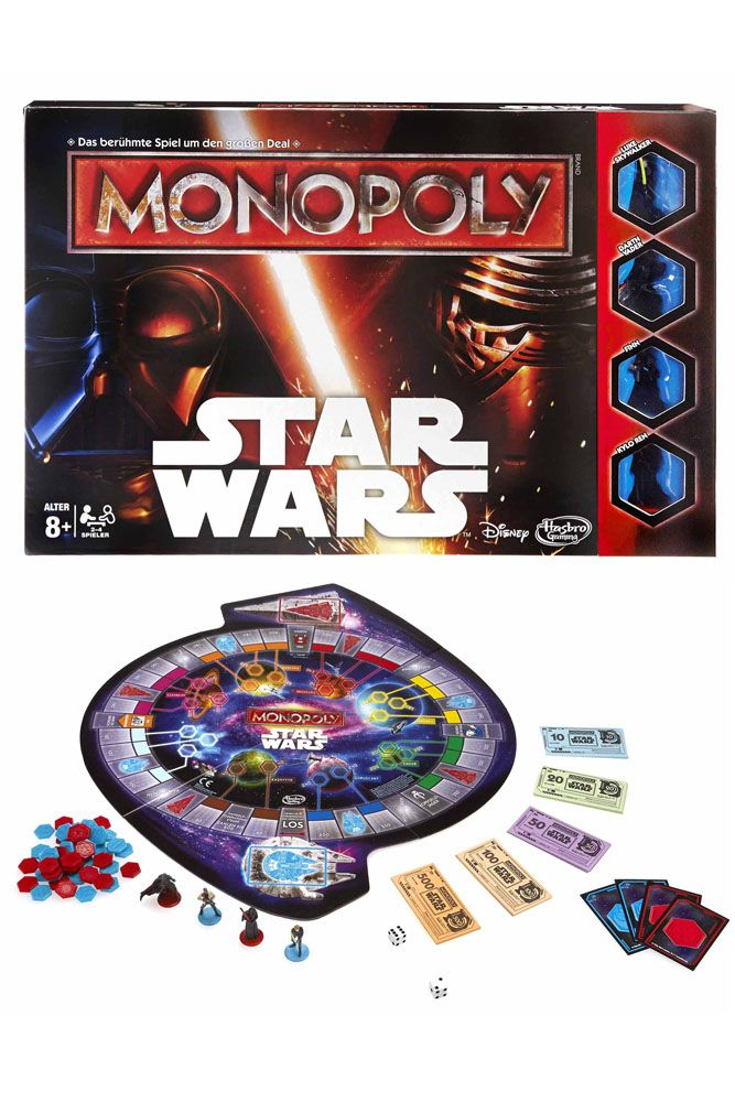 Star Wars Board Game Monopoly *German Version*