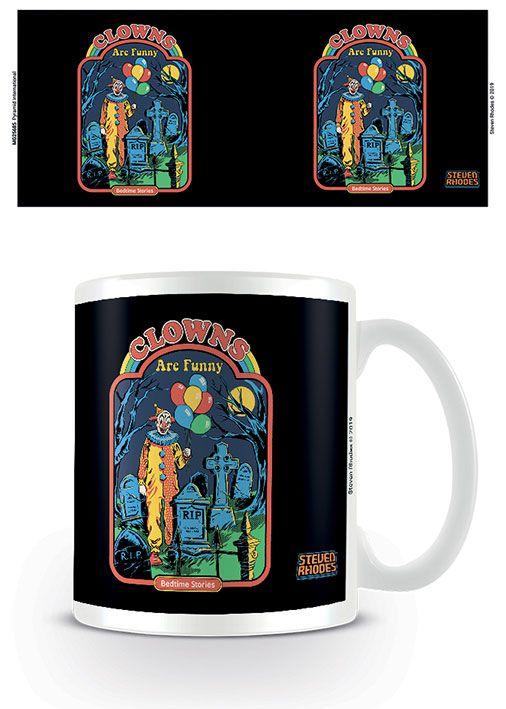 Steven Rhodes Mug Clowns Are Funny
