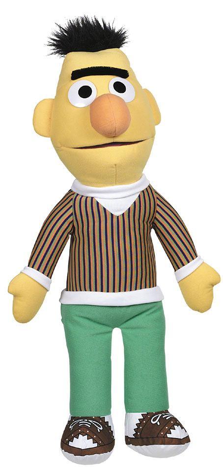 Sesame Street Plush Figure Bert 68 cm