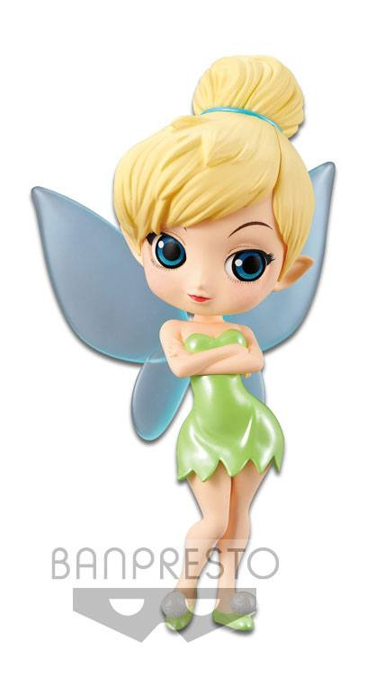 Disney Q Posket Mini Figure Tinker Bell A Normal Color Version 14 cm