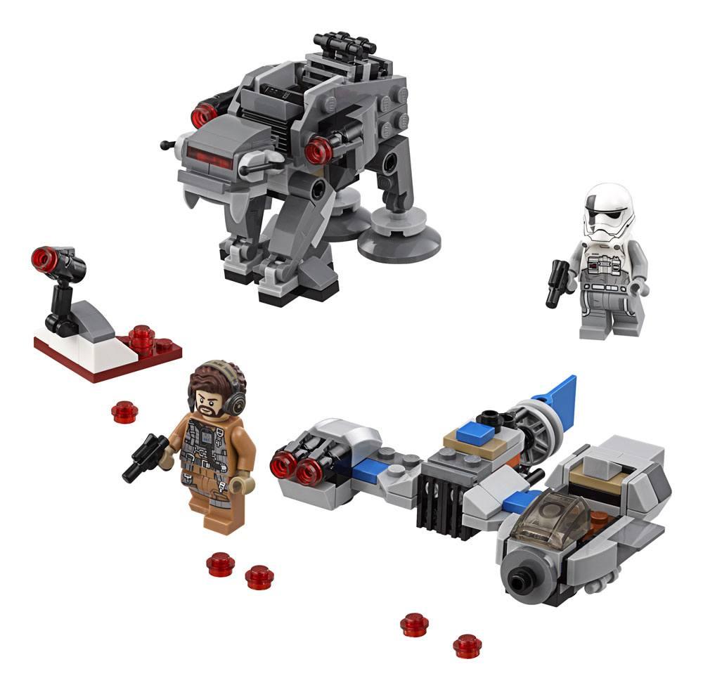 LEGO® Star Wars™ Microfighters Episode VIII: Ski Speeder™ vs. First Order Walker™