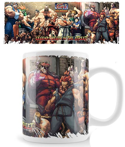 Street Fighter Mug Legends
