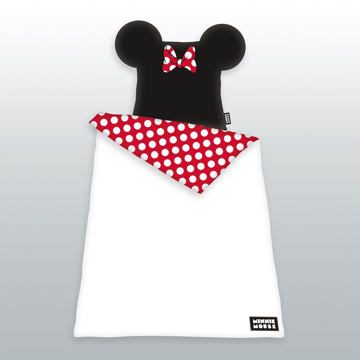 Mickey Mouse Duvet Set Minnie Mouse 135 x 200 cm / 80 x 80 cm