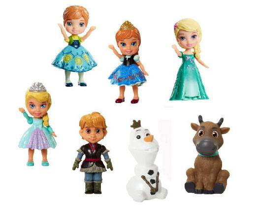 Frozen Mini Toddler Figures 7 cm (12)