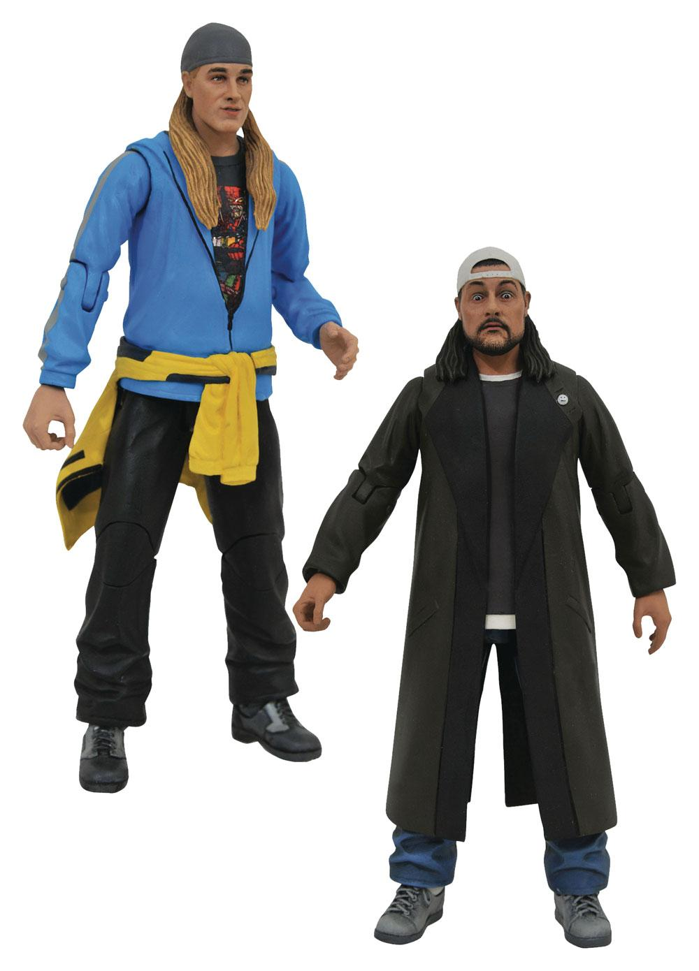 Jay and Silent Bob Reboot Select Action Figures 18 cm Assortment (6)