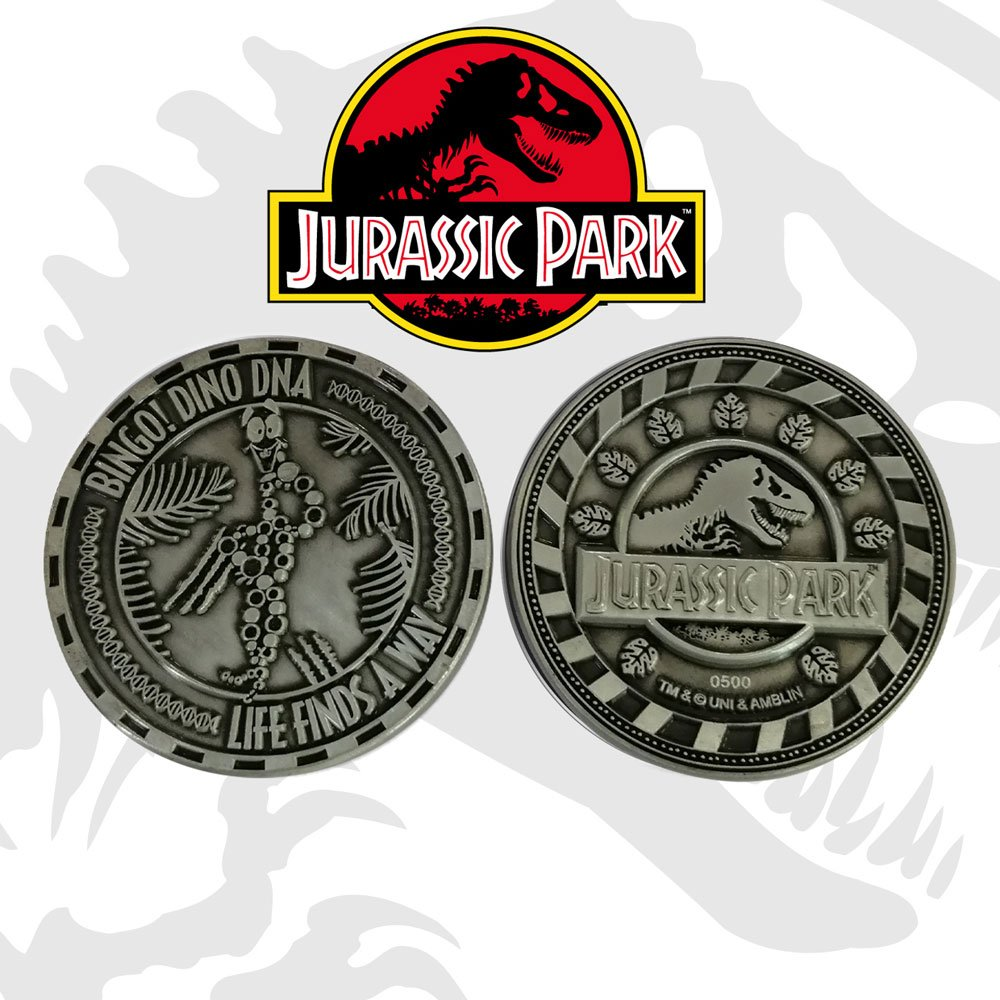 Jurassic Park Collectable Coin Mr DNA Limited Edition