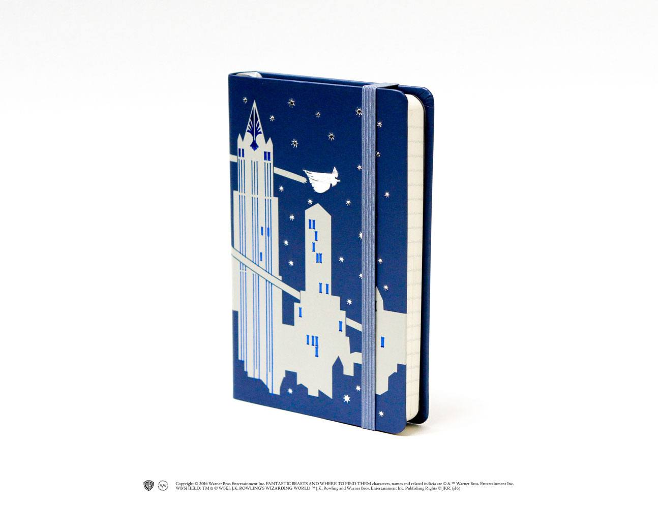 Fantastic Beasts Pocket Journal Skyline