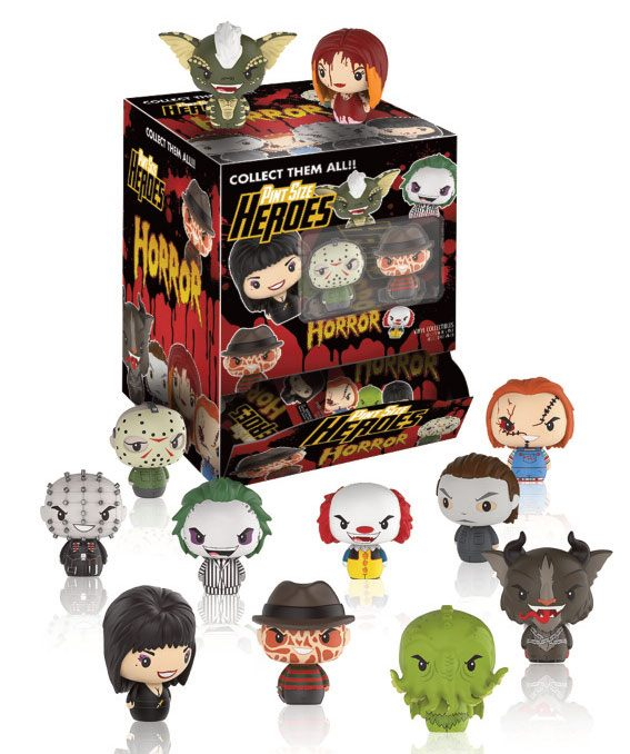 Horror Classics Pint Size Heroes Mini Figures 6 cm Display (24)