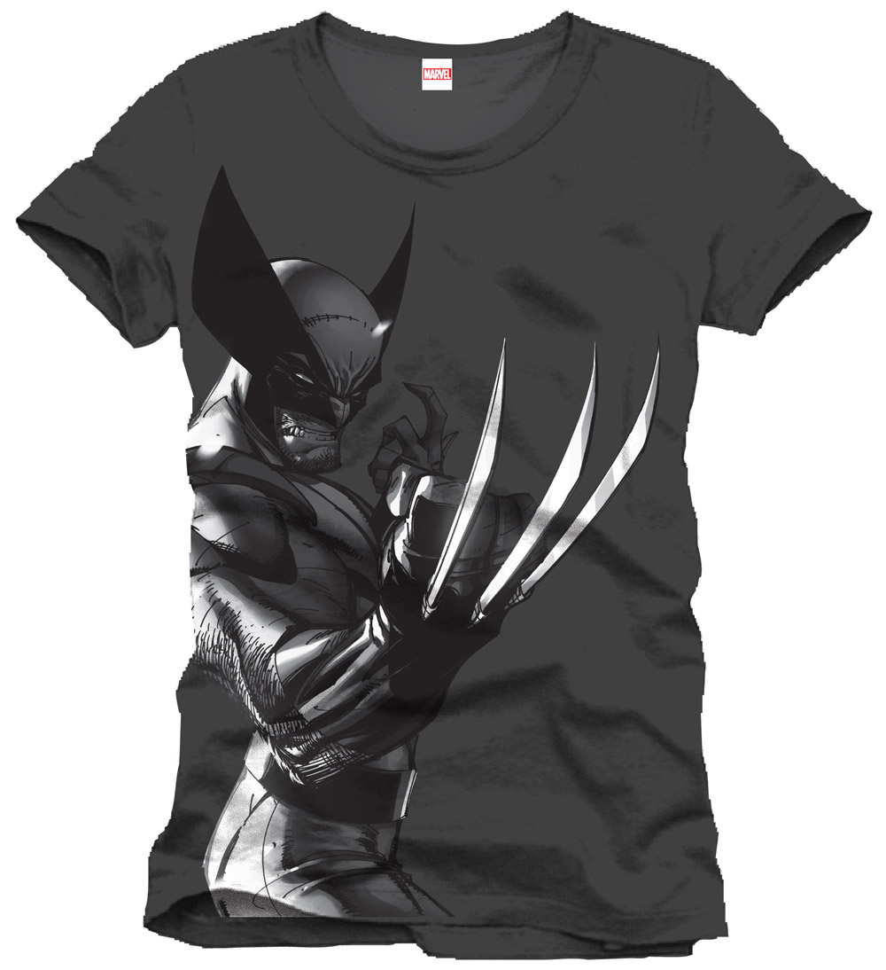 Marvel Comics T-Shirt Wolverine Profil Size M