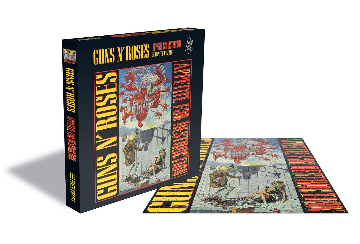 Guns n' Roses Puzzle Appetite for Destruction
