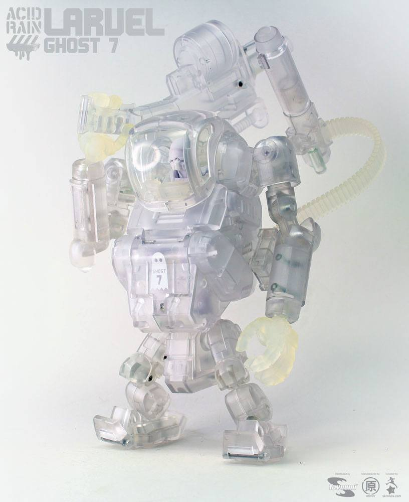 Acid Rain Mecha Action Figure 1/18 Laurel Ghost 7 18 cm