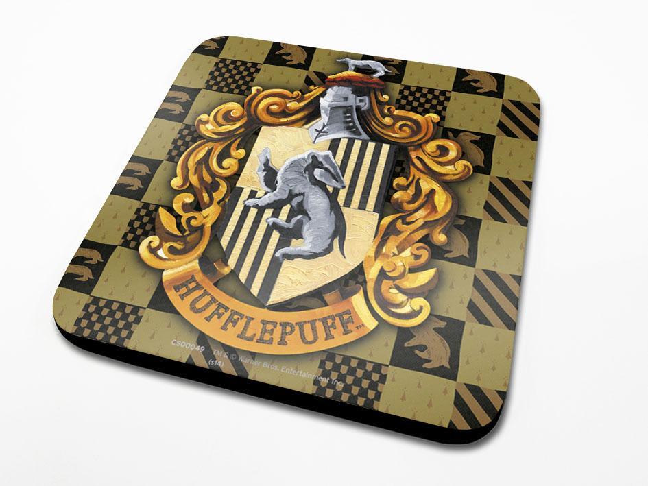 Harry Potter Coaster Hufflepuff Crest 6-Pack