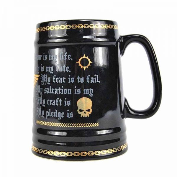 Warhammer Large Tankard Mug Pledge