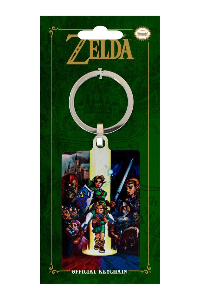 Legend of Zelda Ocarina of Time Metal Keychain 6 cm