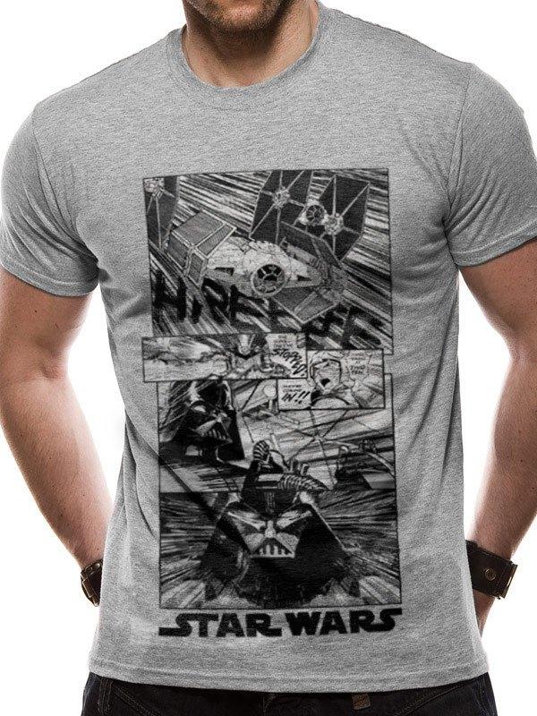Star Wars T-Shirt New Hope Manga Size XL