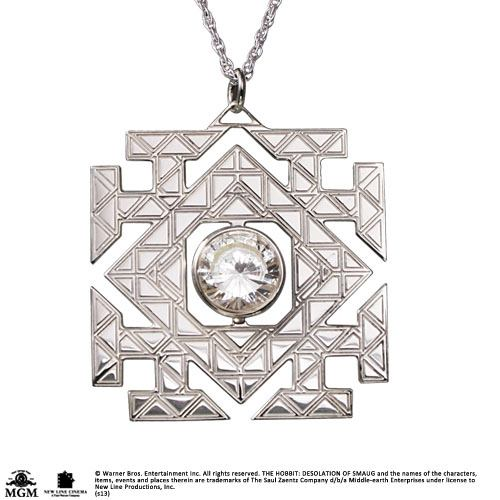 The Hobbit An Unexpected Journey Pendant Arkenstone (Sterling Silver)