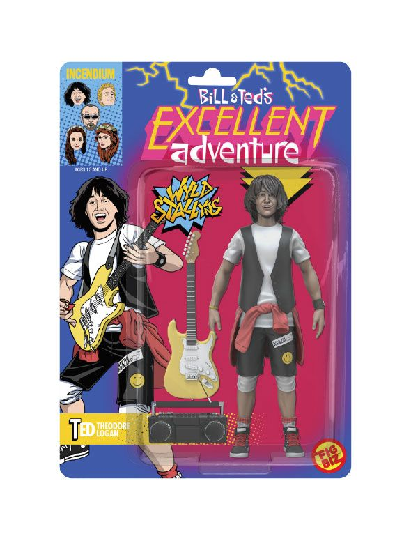 Bill & Ted's Excellent Adventure FigBiz Action Figure Ted 'Theodore' Logan, III 13 cm