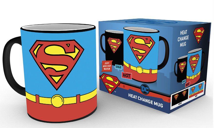 Superman Heat Change Mug Costume