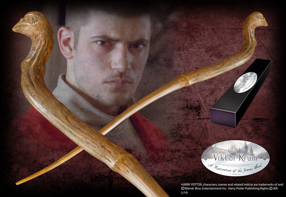 Harry Potter Wand Viktor Krum (Character-Edition)