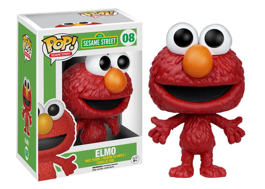 Sesame Street POP! TV Vinyl Figure Elmo 9 cm