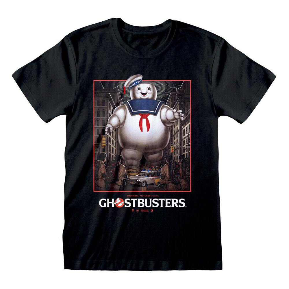 Ghostbusters T-Shirt Stay Puft Square Size S