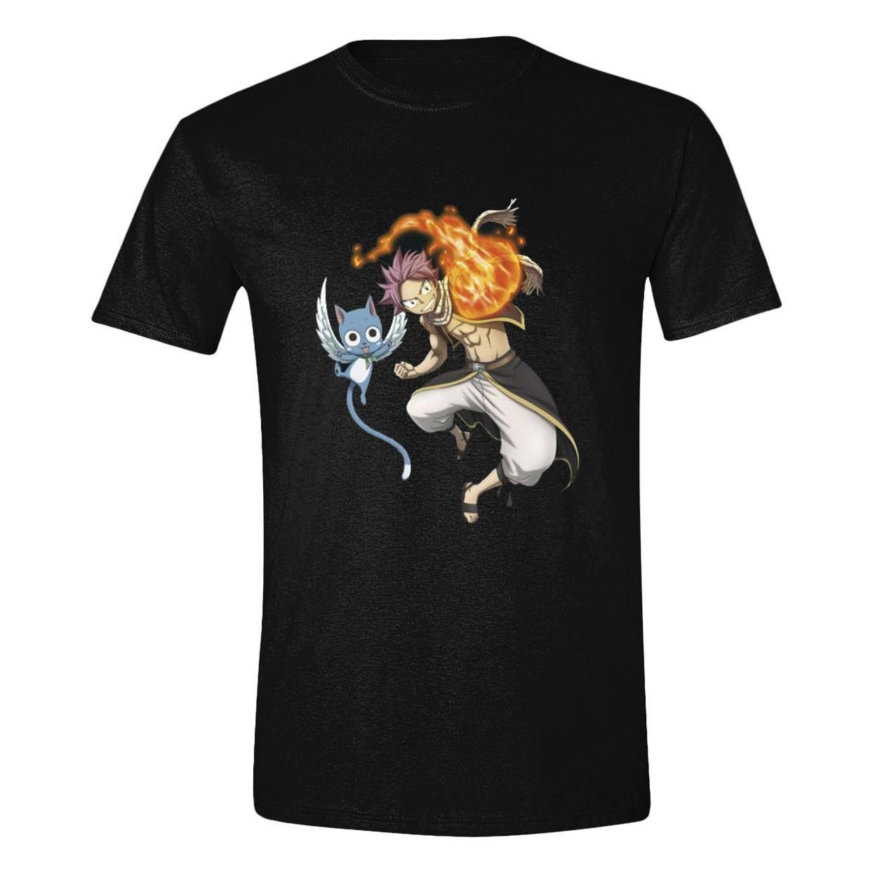 Fairy Tail T-Shirt Natsu & Happy Size XL