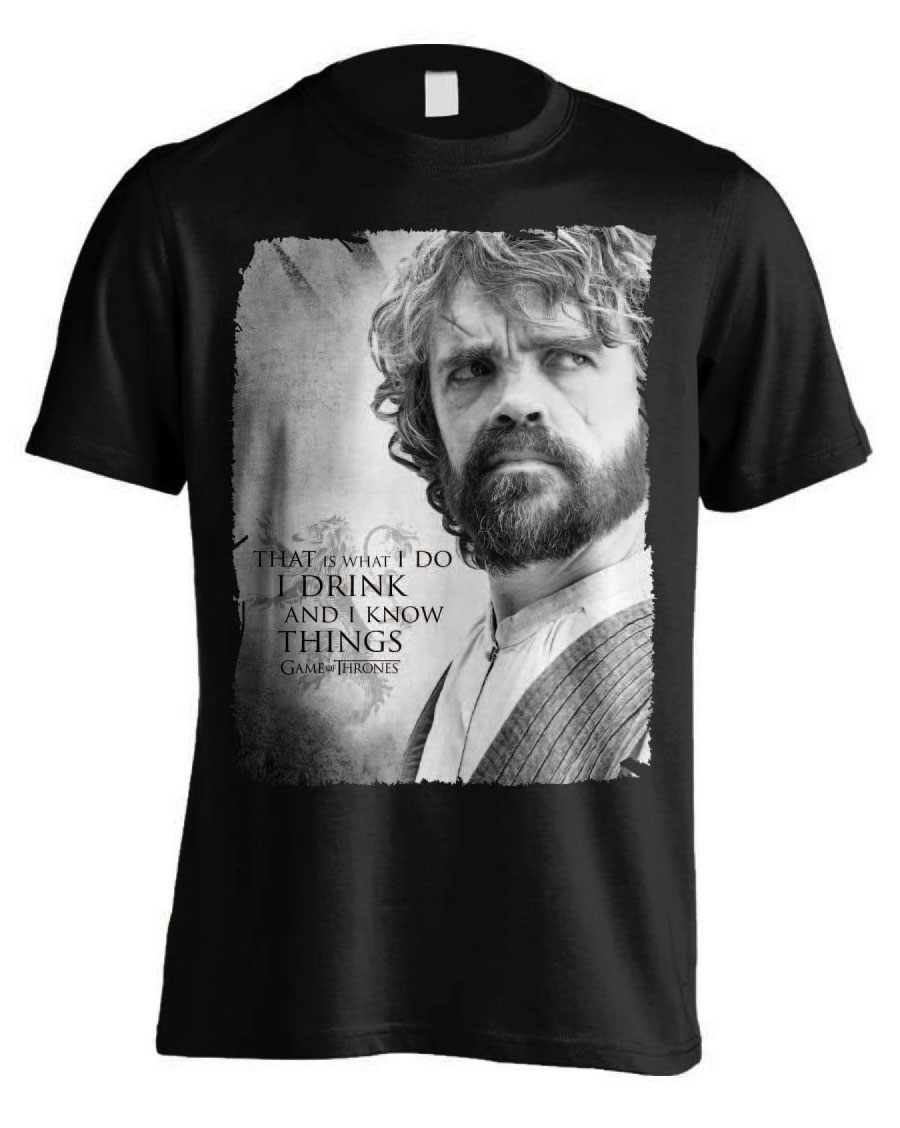 Game of Thrones T-Shirt Tyrion Poster Size M