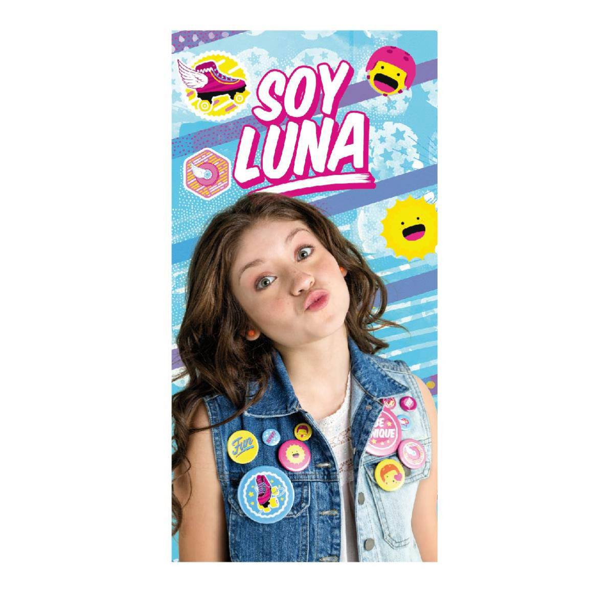 Soy Luna Towel Soy Luna 140 x 70 cm