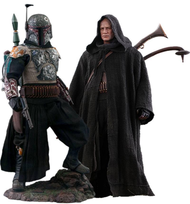 Star Wars The Mandalorian Action Figure 2-Pack 1/6 Boba Fett Deluxe 30 cm