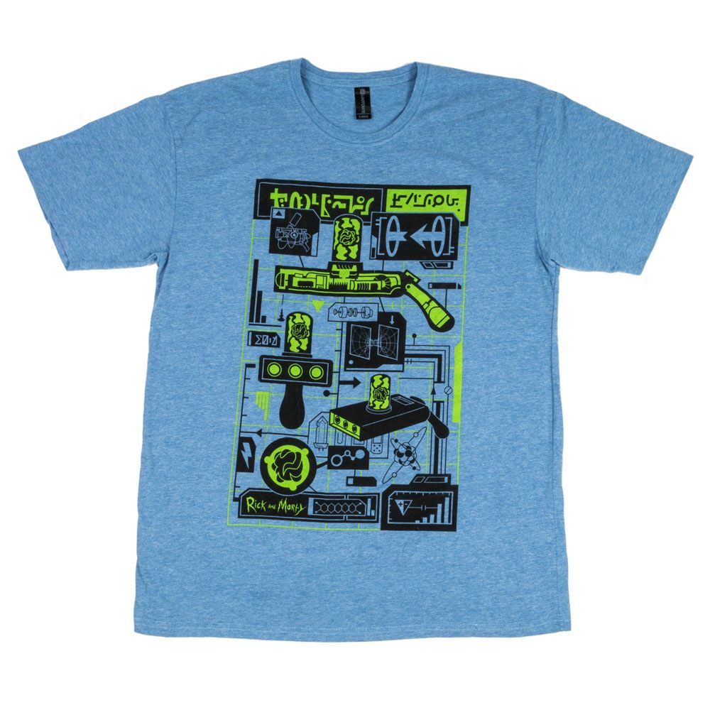 Rick & Morty T-Shirt LC Exclusive Size S