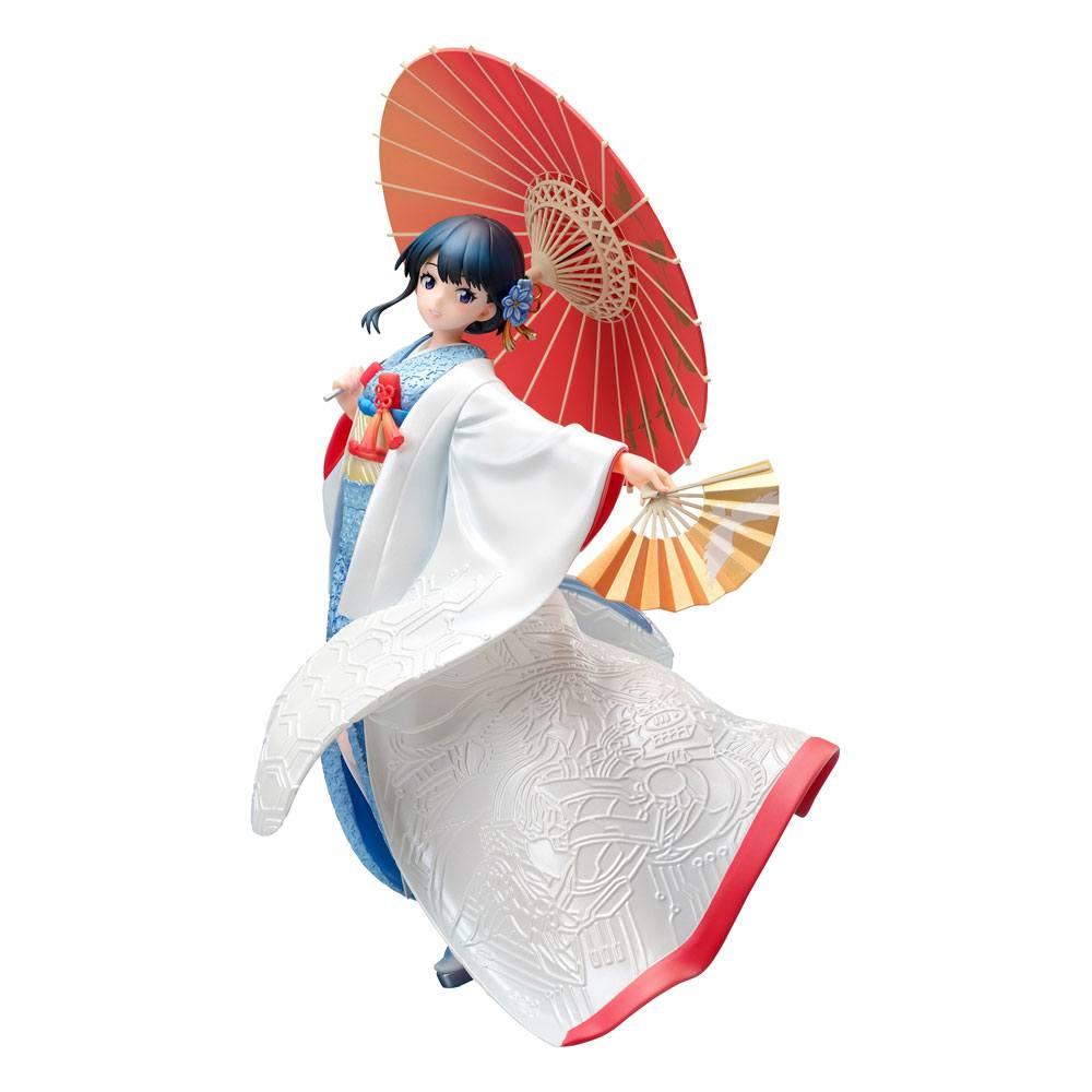 SSSS.Gridman PVC Statue 1/7 Rikka Takarada - Shiromuku 22 cm