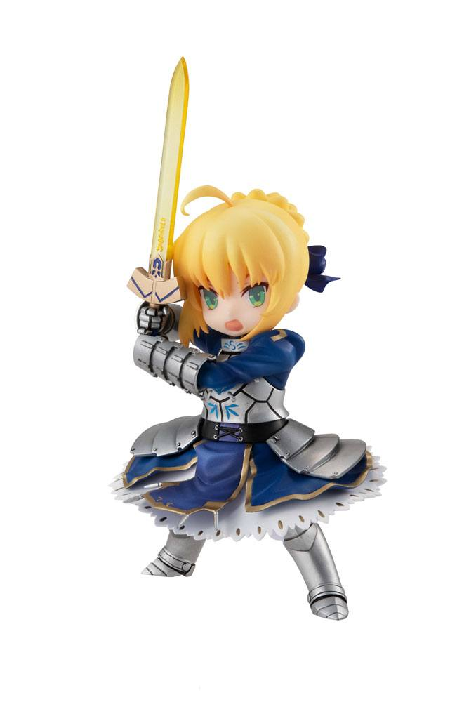Fate/Grand Order Desktop Army Action Figure Saber / Artoria Pendragon 14 cm