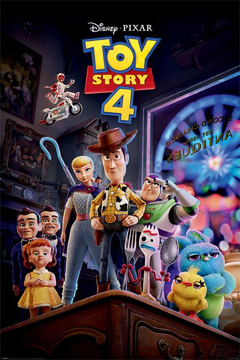 Toy Story 4 Poster Pack Antique Shop Anarchy 61 x 91 cm (5)