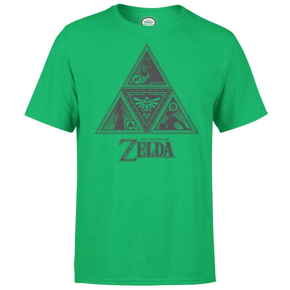 Nintendo T-Shirt Triforce Size L